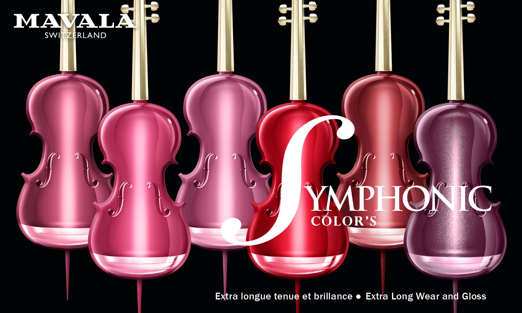 Carte Symphonic Color's 150x90mm